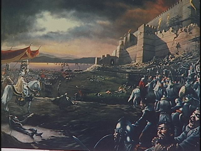 The fall of Constantinople in