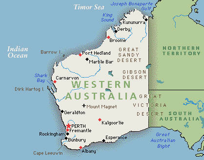 Perth In Australia Map.Google Maps Western Australia Perth Oneiroitan1