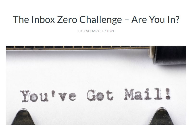 More On Inbox Zero