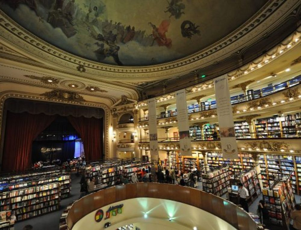 The Prettiest Bookstore In the World.