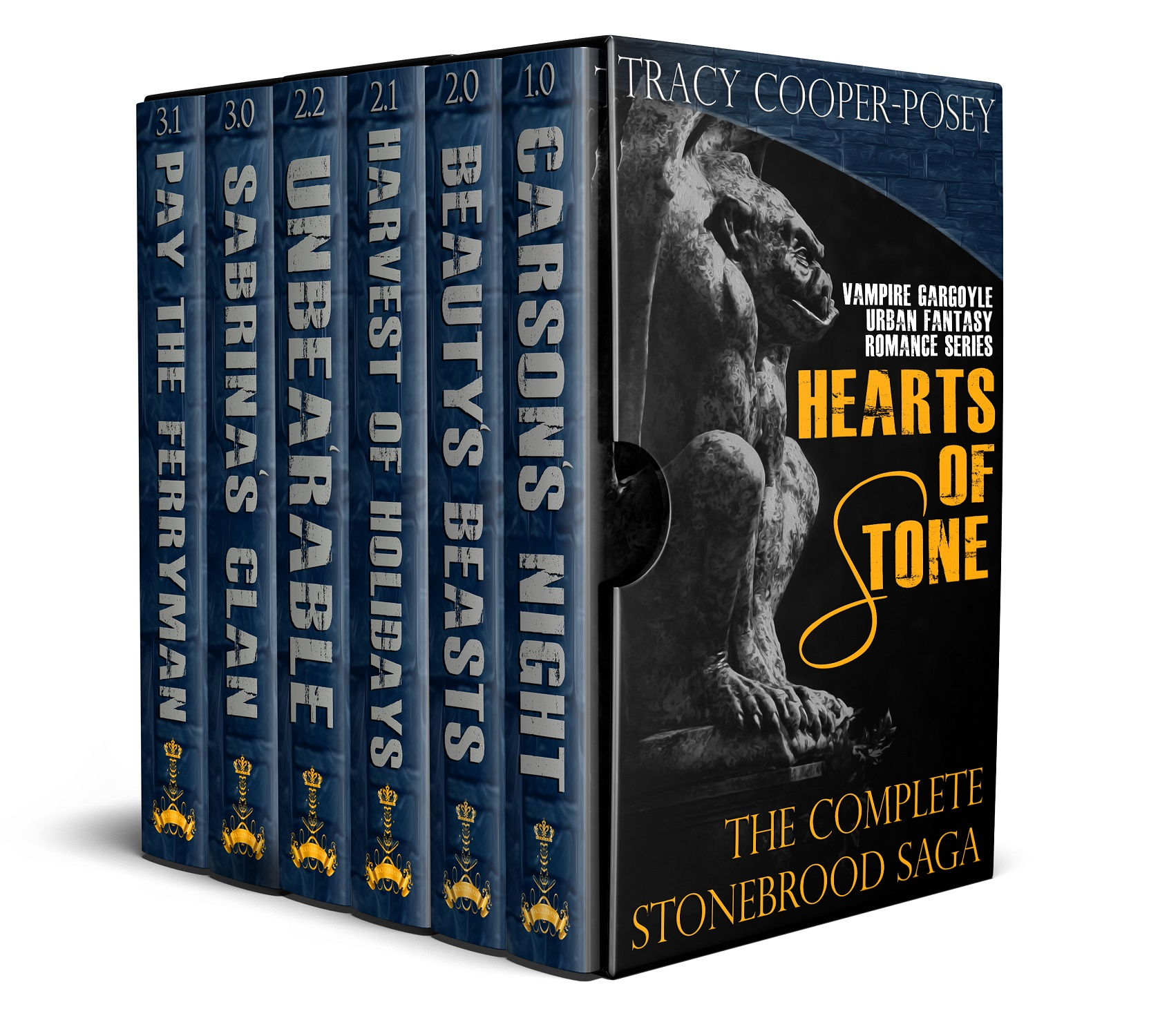 $13 off super hot paranormal romance boxed series set.