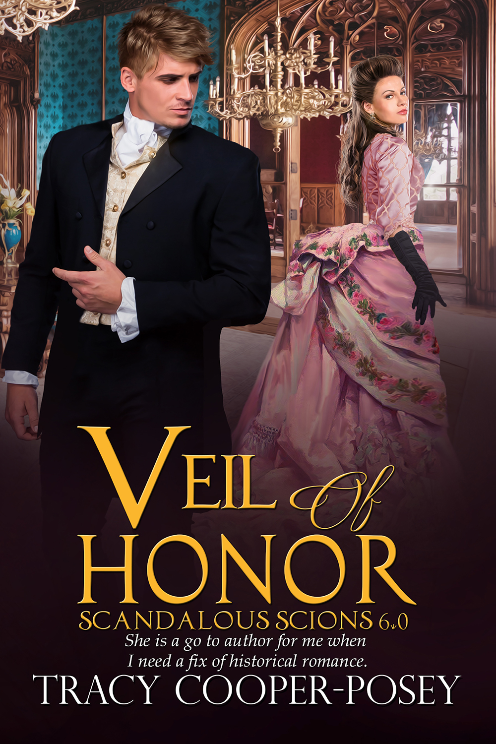 The latest Scandalous Scions historical romance is now released!