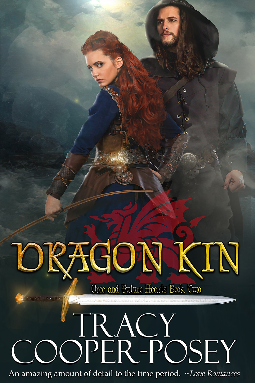 Cover Reveal – DRAGON KIN — Book 2, Once and Future Hearts