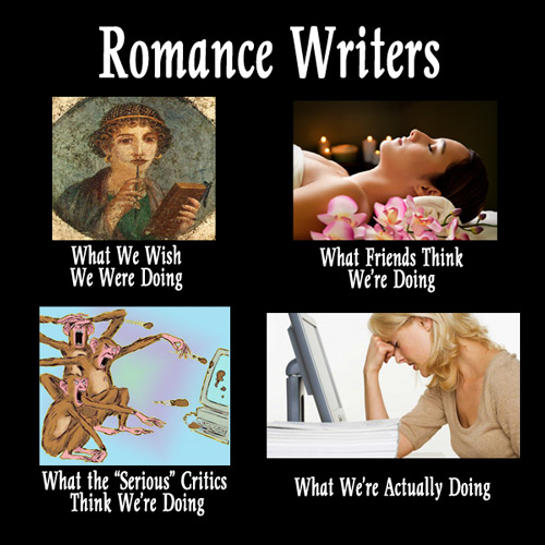 What Romance Writers Really Do