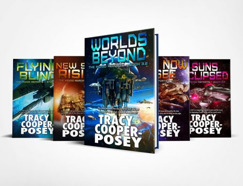The wrap up of a science fiction series.