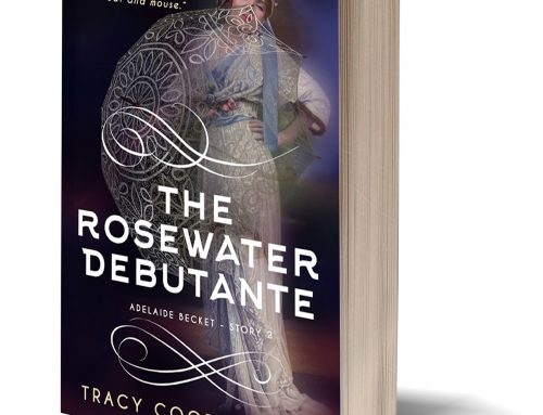 Rolling up my sleeves for Spring Cleaning…and Rosewater Debutante is out!